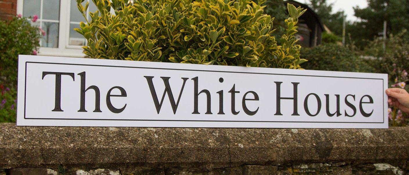 sales letter black and white engraved signs 24539 | black white sign engraved letters eco pvc [4] 24539 p
